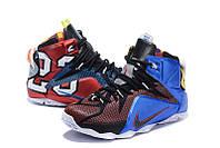 Мужские баскетбольные кроссовки Nike Lebron 12 (Multicolor), фото 1