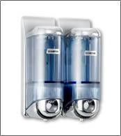 Дозатор для жидкого мыла 9320 объем 2x170 мл