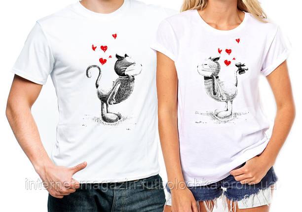 """Парные футболки """"Влюбленные"""", фото 2"""