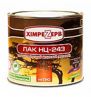 Лак НЦ-243  матовый ТМ Химрезерв  (0,8кг/2кг/17кг/23кг/43 кг) От упаковки