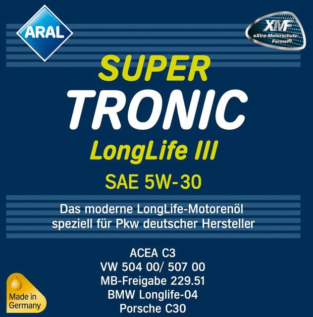 Aral LongLife III 5W30