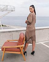 """Платье  женское искусственный замш (50-56)(3цв) """"INELLA"""" недорого от прямого поставщика"""