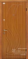Двери в квартиру стальные с МДФ отделкой ТМ Абвер модель Iriada