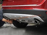 Накладка на бампер задняя Volvo XC60 2008-13