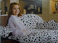 Флисовое одеяло-подушка Дормео Флип (Далматинец)