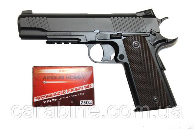 Пневматический пистолет Кольт 1911 KWC KM 40D