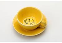 Подставка под чайные пакетики (желтый)