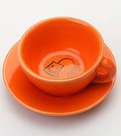 Подставка под чайные пакетики (оранжевый), фото 1