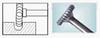 Борфреза дисковая 45х6мм (3х16мм) (тип насечки ― 3)