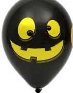 """Шар воздушный чорний Хэллоуин """"12"""",  диаметр 30 см"""