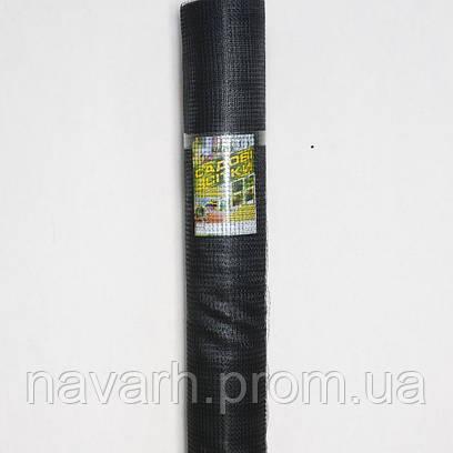 """Сетка пластиковая (""""птичка"""") 30мм х 35мм 1м х50м черная"""