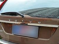 Хромированная накладка на багажник (над номерным знаком) Volvo XC60 2008-13
