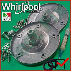 Запчасти для стиральной машины Whirlpool AWE Опора барабана Фланцы Суппорт барабана СМА original KIT