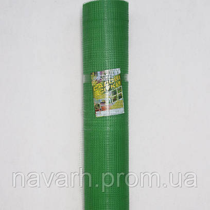 "Сетка пластиковая (""птичка"") 12мм х 14мм 0,5м х100м зеленая"