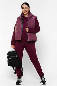 Жіночий теплий прогулянковий костюм, 58-60