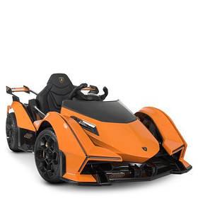 Електромобіль дитячий M 4633EBLR-7 помаранчевий