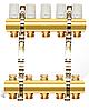 Коллектор двойной с запорными вентилями 3 выхода APC