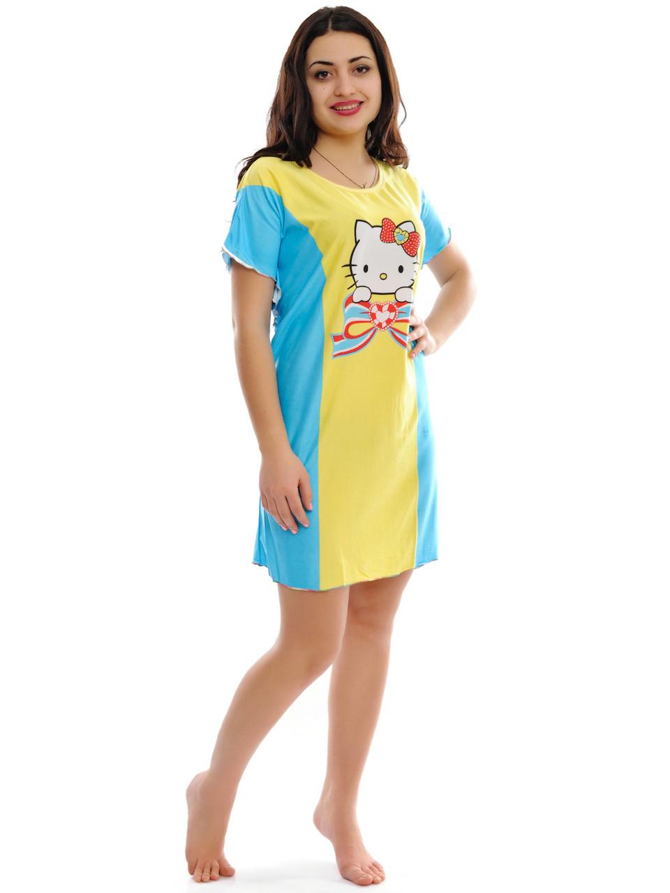 86fa1cc51784c Женская ночная рубашка Hello Kitty, цена 100 грн., купить в Одессе ...