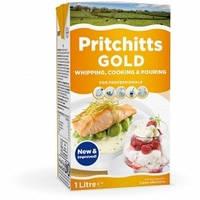 Сливки растительно-животные для взбивания 33.5% Pritchitts Gold, Ирландия 1л
