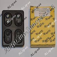 Блок кнопок стеклоподъемника WTE универсальный врезной (Турция) на 2 двери