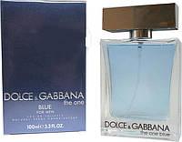 Мужская туалетная вода Dolce&Gabbana The One blue