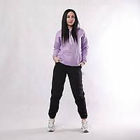 NEW! Теплі жіночі спортивні штани на осінь - зиму - серія 21031 Sport трьохнитка / начос ТМ УКРТРИКОТАЖ!