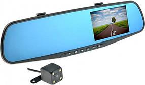 Видеорегистратор NEXTONE MR-12 (Универс.зеркало заднего вида,вход для камеры+доп кам.6мес гар)