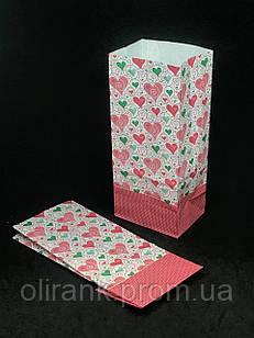 Пакет бумажный для чая и кофе РИСУНОК 190*85*60 1000шт/ящ