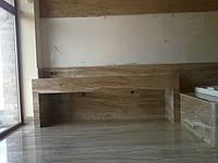 Полы из мрамора больших размеров (слябы)