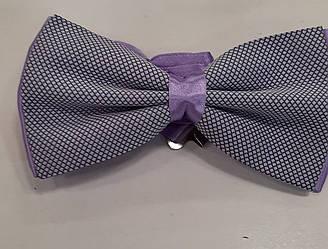 Краватка-метелик чоловічий лаванда