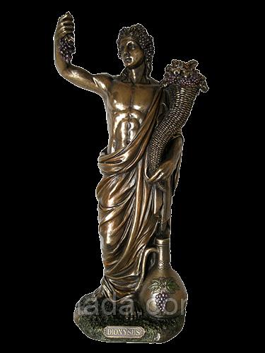 """Статуетка """"Діоніс-Бог рослинності"""", 33см"""