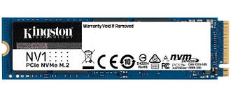 Накопичувач SSD 500GB M. 2 NVMe Kingston NV1 M. 2 2280 PCIe Gen3.0 x4 3D TLC (SNVS/500G)