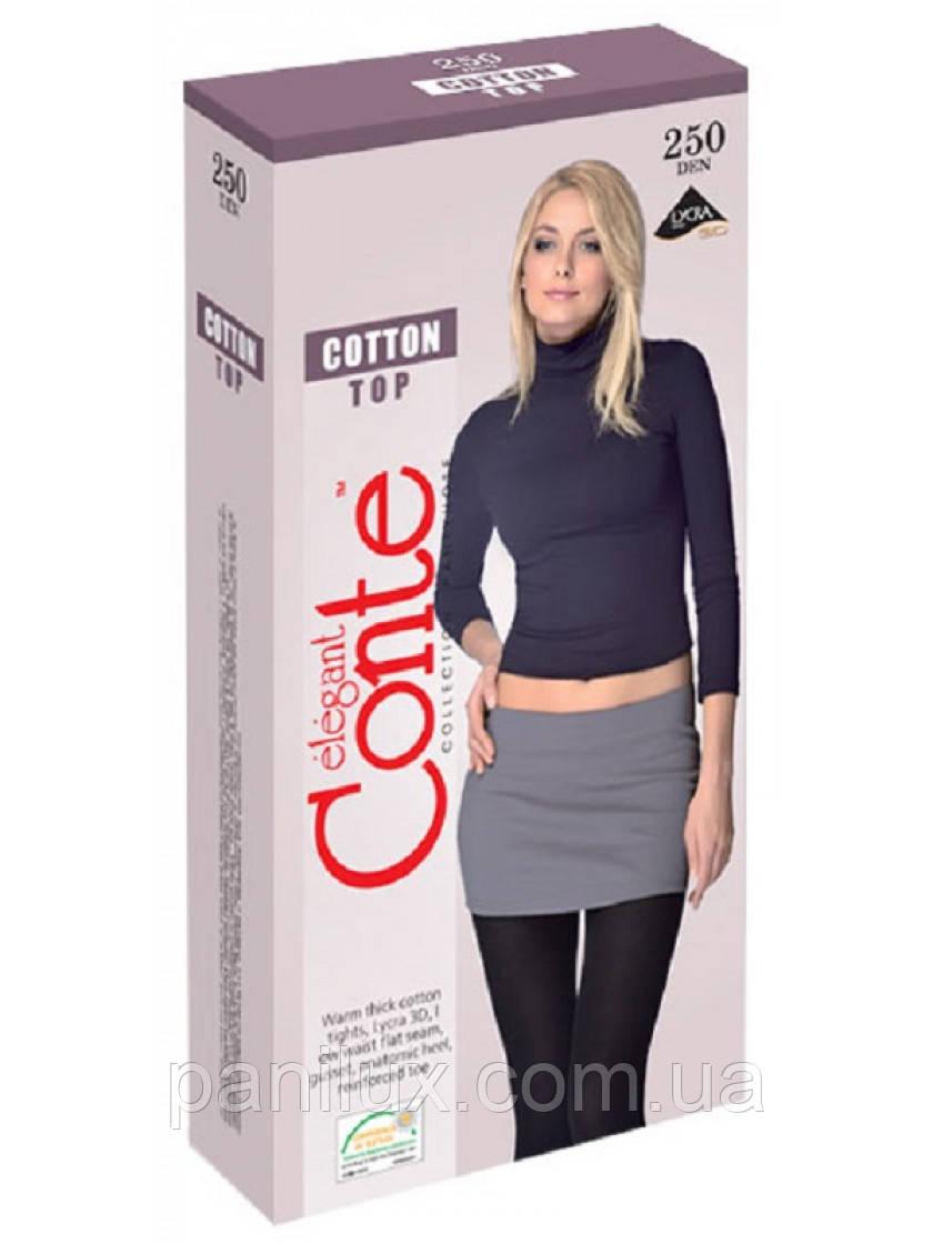 Жіночі колготки Cotton Top 250 Den