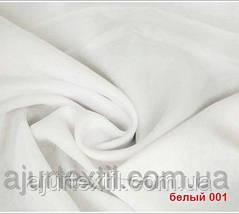 Вуаль однотонный (белый) Турция, фото 3