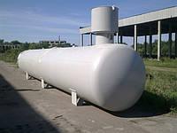 Подземный резервуар пропан-бутана 18,5 куб. м.