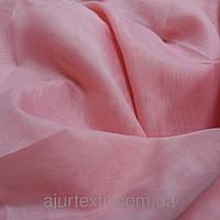Вуаль однотонный  розовый