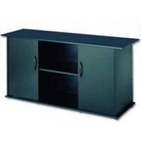 Тумба для акваріума Природа 120х40 см прямокутна, з дверцятами, чорна.