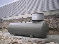 Подземная емкость для сжиженного газа объемом 9.9 куб
