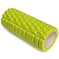 Роллер массажный Грид (Grid roller), салатовый