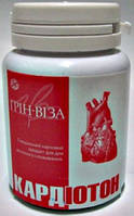 Кардиотон 60табл (Грин-Виза ) Стенокардия, Аритмия, Гипертония, Порок сердца, Спазмы сосудов