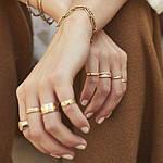 Кольца из медицинского золота - достойное украшение на любой случай