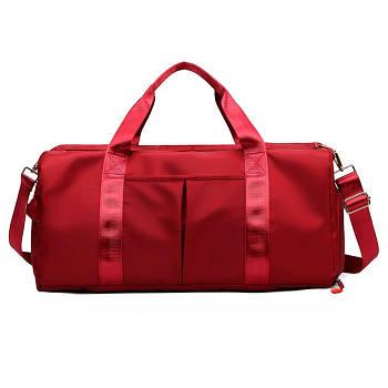 Жіноча дорожня сумка Bioworld 20-35 л Червона (12538)