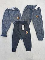 Спортивные брюки с плотным начесом для мальчиков Fashion 74-98см.