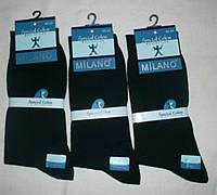 Носки мужские MILANO производство Турция Двойной носок  двойная пятка без шва Размер 40-45