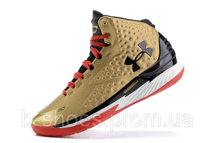 Мужские кроссовки UNDER ARMOUR CURRY (Gold)