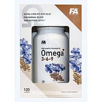 Fitness Authority Omega 3-6-9 120 soft gels.Льняное масло в мягких гелевых капсулах, которое является наиболее