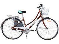 """Велосипед Cyclone 28"""" MONACO рама 17"""" 3-nex коричневый"""