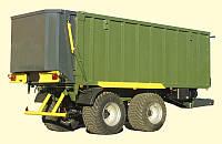 Тракторный сдвижной прицеп ТЗП-27 грузоподъемность