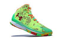 Мужские кроссовки UNDER ARMOUR CURRY (Green), фото 1
