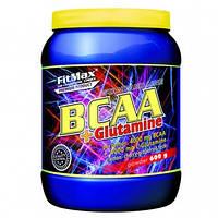 FitMax®BCAA  FM BCAA+Glutamina, 600 g. Для восстановления и роста мышц. Это очень эффективный комплекс